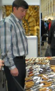 Русский булат - ножи Ворсма