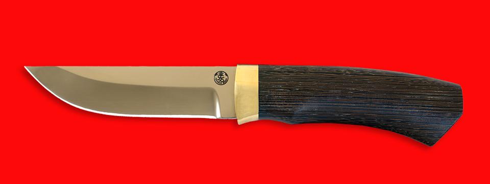 """Охотничий нож """"Бурундук"""", клинок порошковая сталь ELMAX, рукоять венге"""