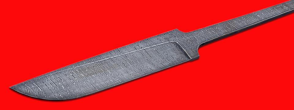 """Клинок для ножа """"Олень"""", клинок дамасская сталь"""