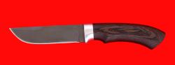 """Охотничий нож """"Грибник"""", клинок сталь Х12МФ, рукоять венге"""