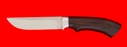 """Охотничий нож """"Грибник"""", клинок сталь K340, рукоять блэквуд"""
