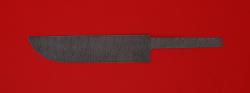 """Клинок для ножа """"Узбекский"""", дамасская сталь"""
