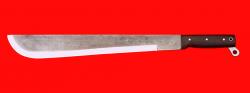 """Нож """"Мачете-3"""", цельнометаллический, клинок сталь У10 кованая, рукоять венге"""