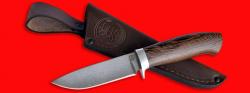 """Охотничий нож """"Панда"""", клинок сталь D2, рукоять венге"""