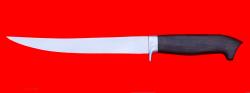"""Филейный нож """"Судак большой"""", клинок сталь 65Х13, рукоять блэквуд"""